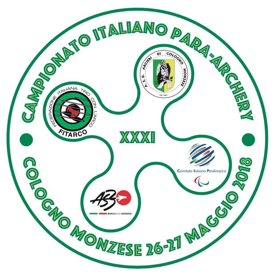 Calendario Fitarco.Xxxi Campionati Italiani Outdoor Para Archery Arcieri